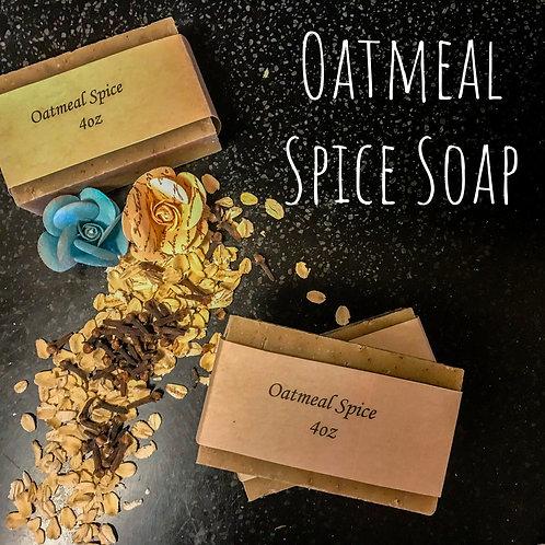 Oatmeal Spice Soap
