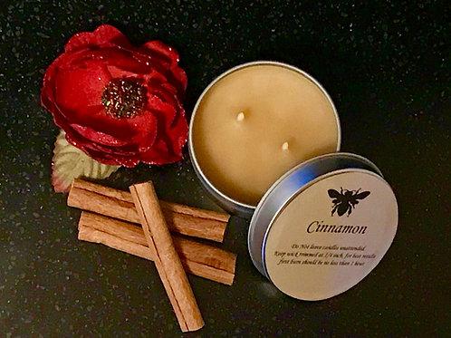 Cinnamon Beeswax Candle