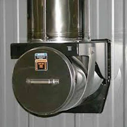 """Chimney Tee Kit, Stainless Steel, 8"""""""