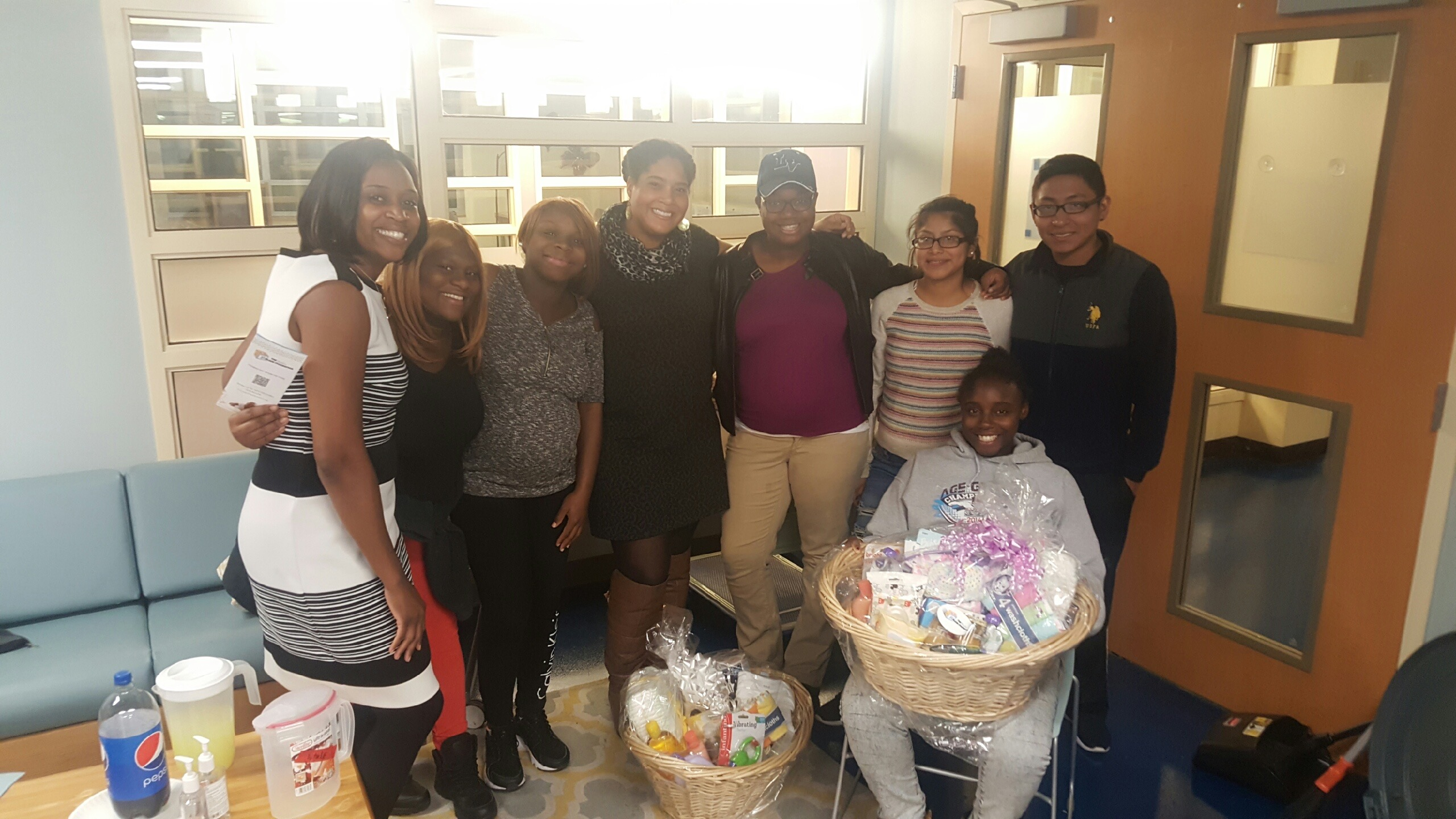 New Moms Prenatal Class Basket Giveaway
