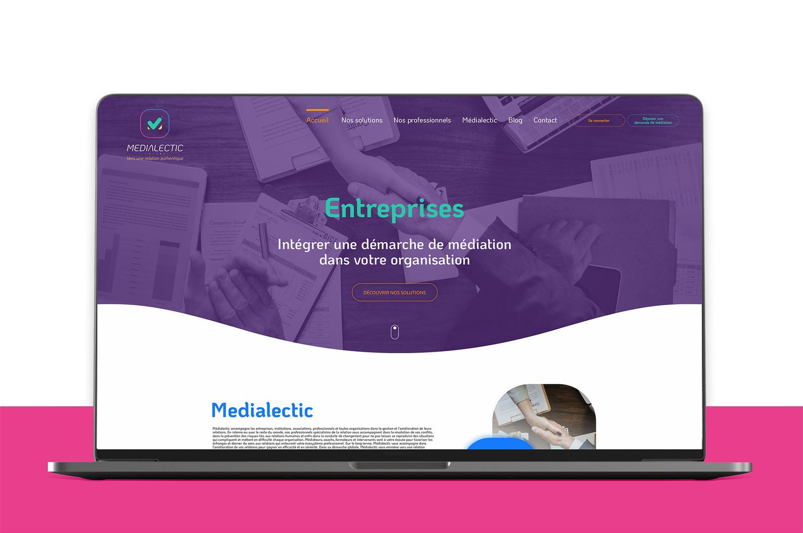 Site web Médialectic