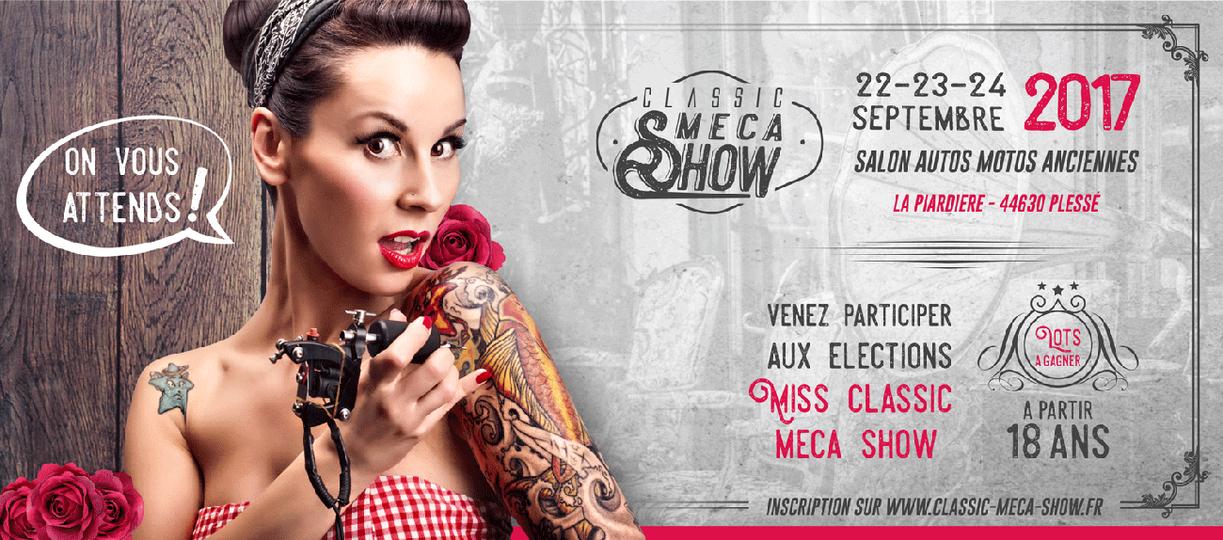 Bannière Classic Meca Show