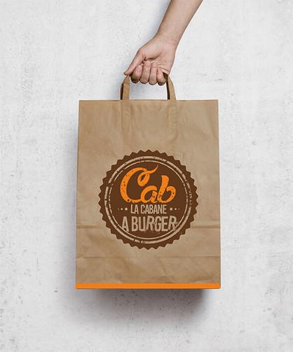 Packaging La Cabane à Burger