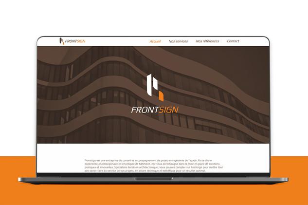 Consultez le site Frontsign