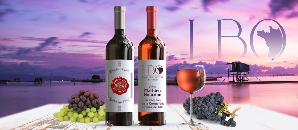 Bannière l'univers des vins - LBO