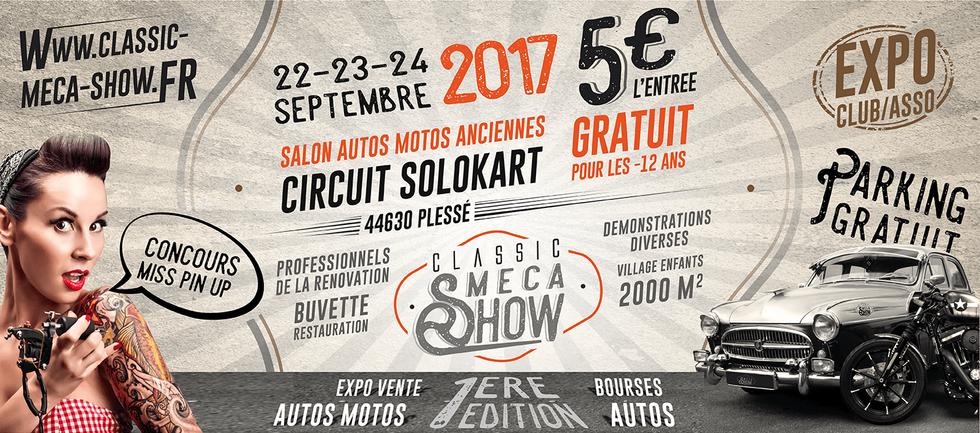 Bannière Classic Méca Show