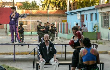 Il combattimento Intervención Barrio Rivadavia I