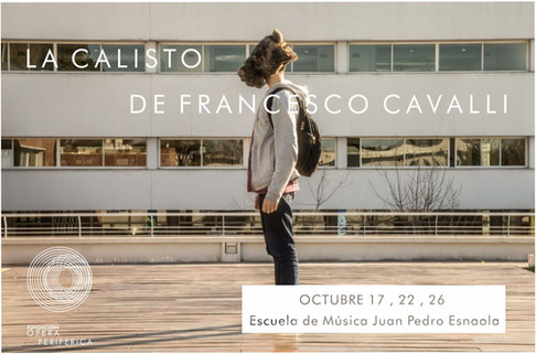 La Calisto | Esc de Música J P Esnaola