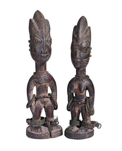 Pair of Ibeji Male & Female Ilorin