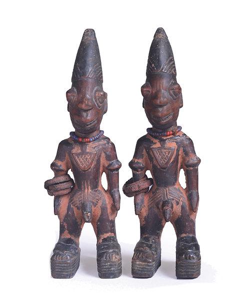 Pair of Ibeji Males Ajasse