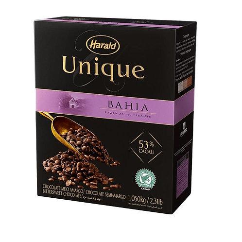 Chocolate Unique Bahia 53% Cacau Em Gotas - Harald 1,05kg