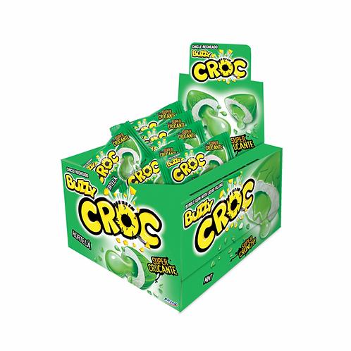 Chiclete Croc sabor Hortelã Display com 40un Riclan
