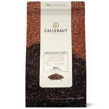 Chocolate Flakes Ao Leite 4M Callebaut  1kg