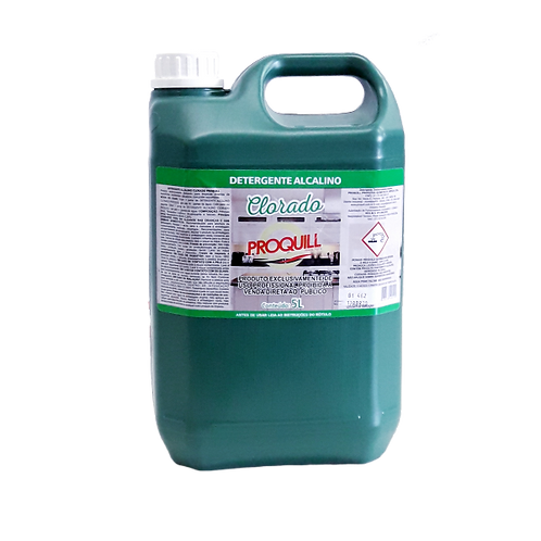 Detergente Alcalino Clorado - 5L - Proquill