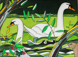 Swans, Granchester