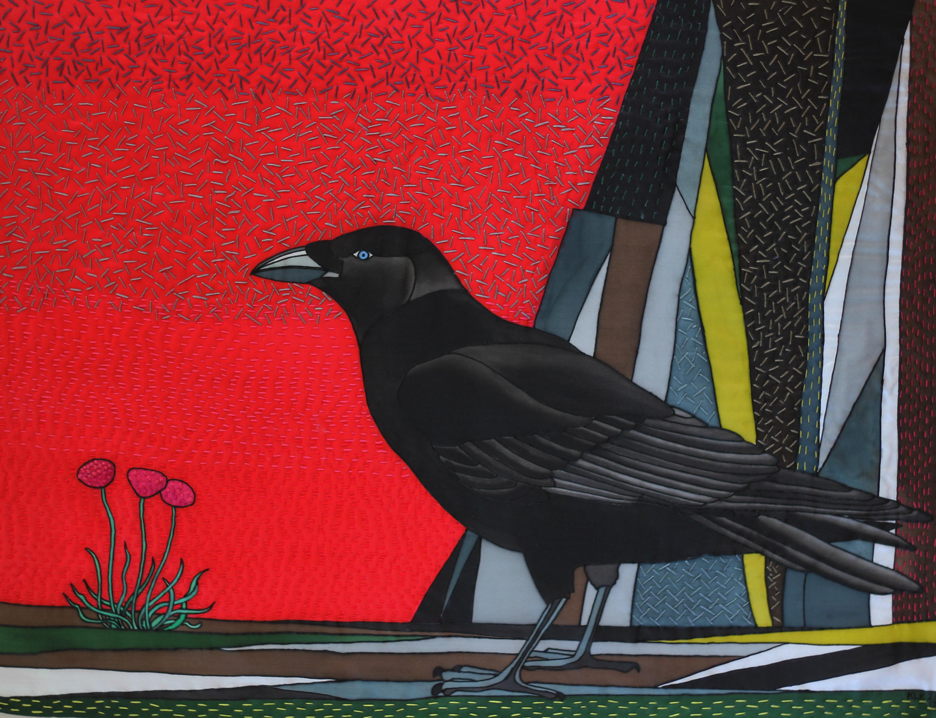 Raven on Cliff