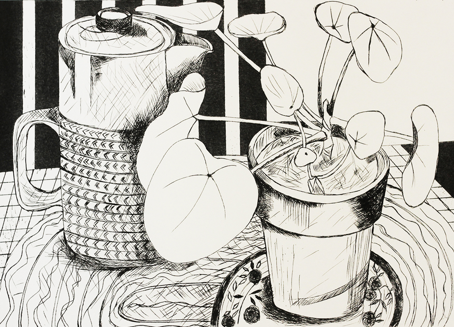 Still Life with Coffee Pot