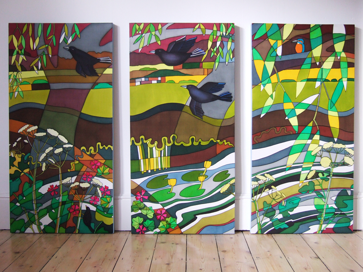Savill's Triptych