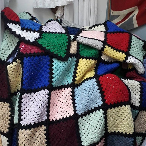 Knitted Woolen Blanket 3
