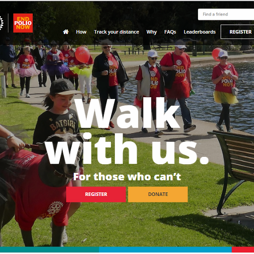 Join us as we Walk for Polio