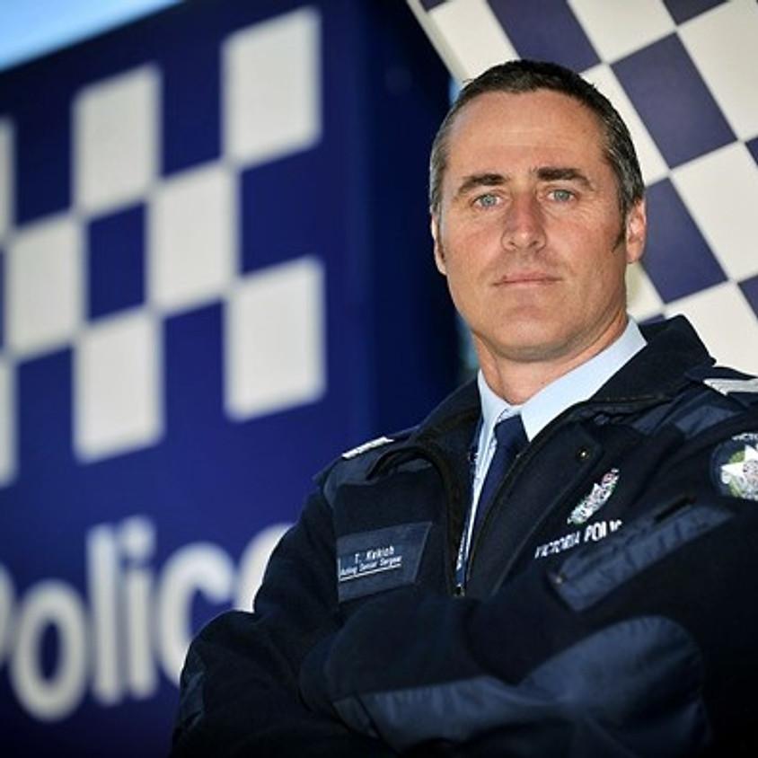 Guest Speaker - Senior Sergeant Tony Kekich - Policing in Bendigo