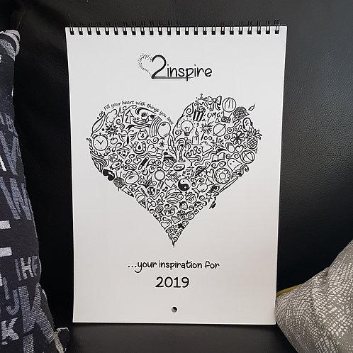 2inspire Wall Calendar
