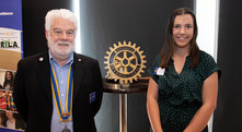 Rotary Agriculture Scholarship recipient