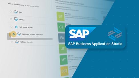 SAP Business Application Studio
