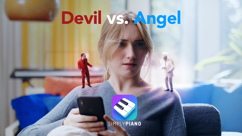 Joytunes - SimplyPiano - Angel vs. Devil