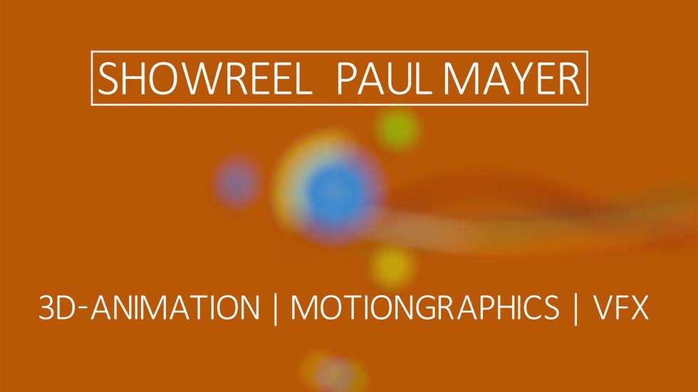 Paul Mayer - General Showreel