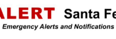 Smart 911 & Santa Fe Alert
