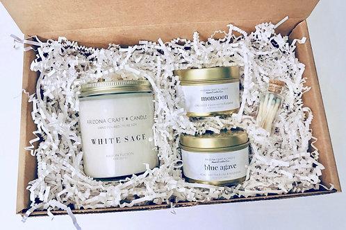 Arizona Candle Gift Set