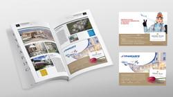 advertising module for magazine