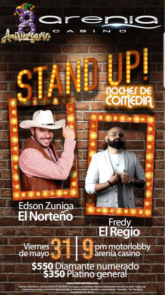 """⏩ EDSON ZUÑIGA """"EL NORTEÑO"""" 🔴 8 ANIVERSARIO DEL CASINO ARENIA 🔴 MEXICALI  🔴 31 DE MAYO"""