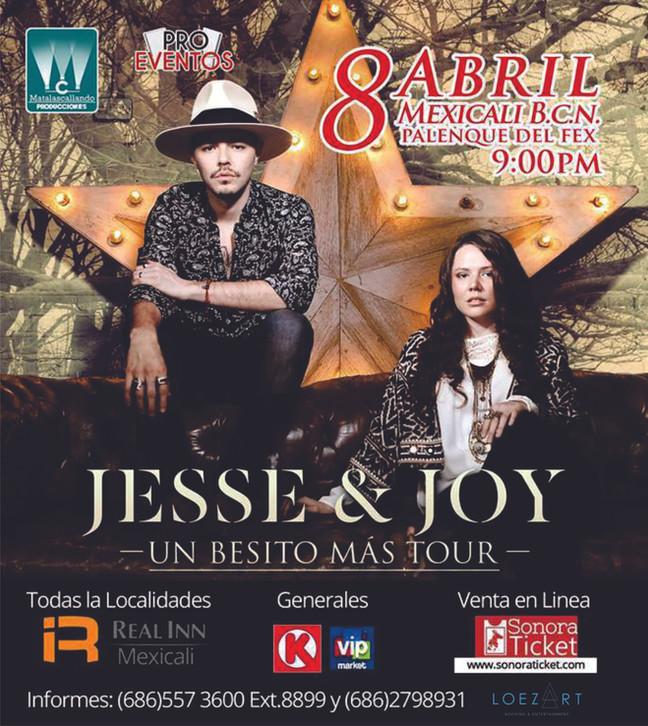 JESSE & JOY | 8 ABRIL | MEXICALI