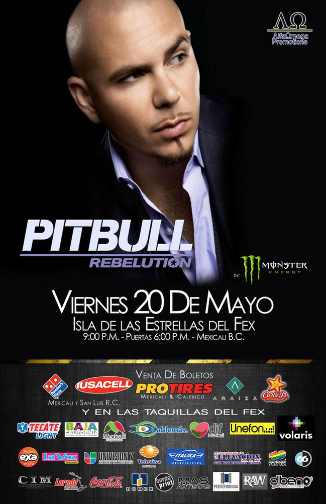 PITBULL | MEXICALI, B.C.