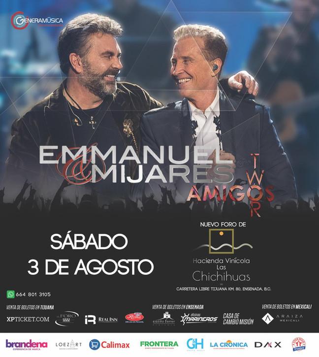 ⏩ EMMANUEL & MIJARES 🔴 RANCHO LAS CHICHIHUAS 🔴 VALLE DE GUADALUPE  🔴 3 DE AGOSTO 💯  #booking
