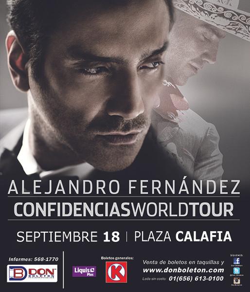 ALEJANDRO FERNANDEZ | 18 SEPTIEMBRE