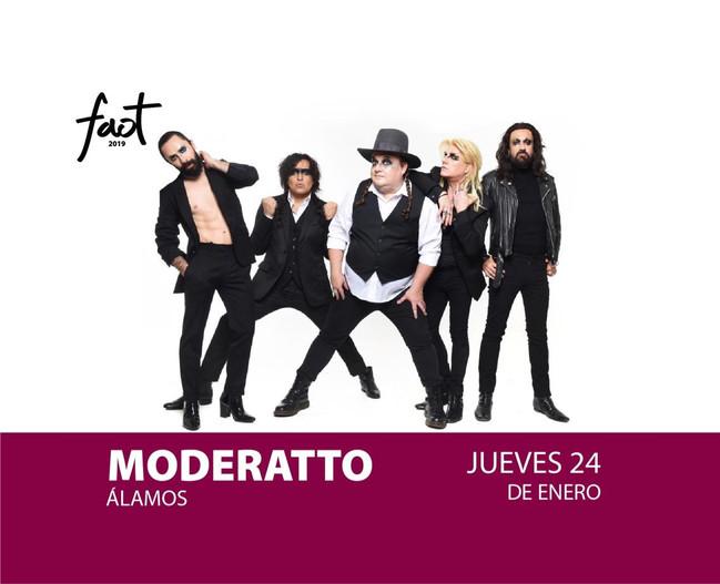 ⏩ MODERATTO 🔴 24 ENERO 2019 🔴 FESTIVAL ALFONSO ORTÍZ TIRADO * FAOT 🔴 ÁLAMOS SONORA 💯 #bookingloe