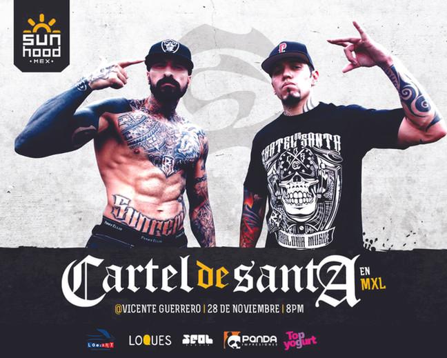 CARTEL DE SANTA   28 NOVIEMBRE