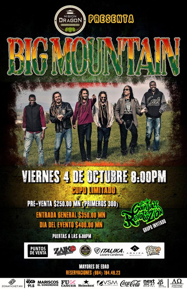 ⏩ BIG MOUNTAIN 🔴 4 DE OCTUBRE 🔴 MISIÓN DRAGÓN 🔴 MEXICALI 💯  #zonaticketmx