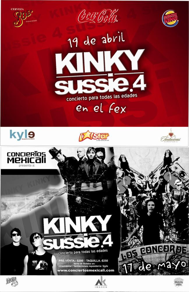 KINKY & SUSSIE 4 | MEXICALI, B.C.
