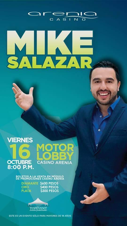 """MIKE SALAZAR """"EL CABALLERO DE LA COMEDIA"""""""