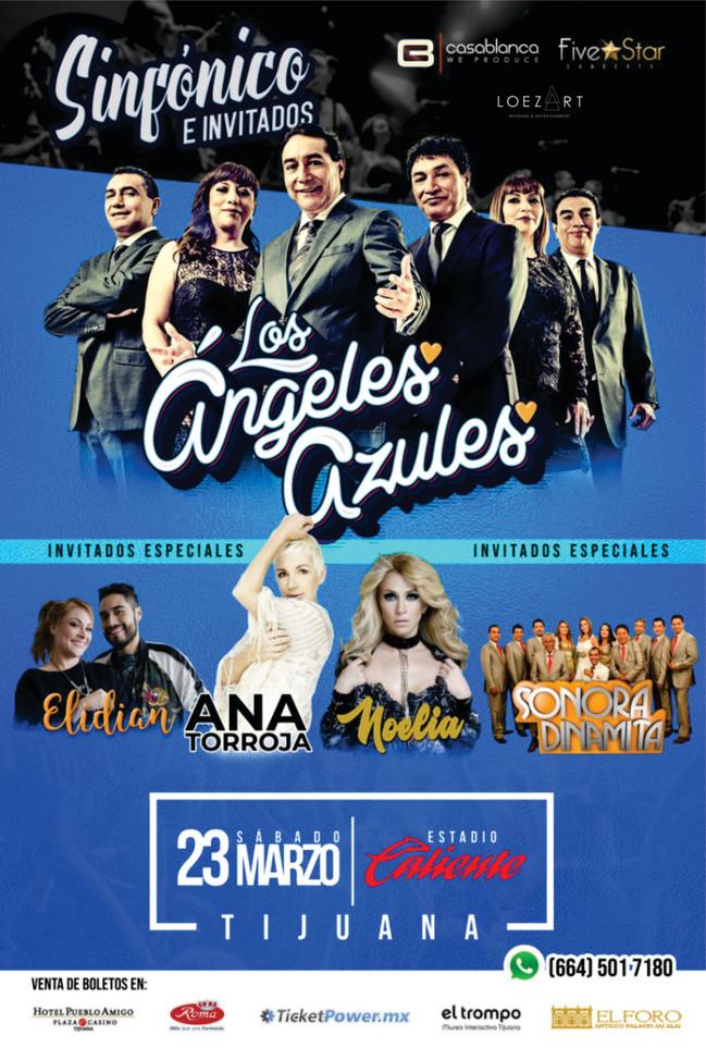 ⏩ LOS ÁNGELES AZULES 🔴 23 MARZO 2019 🔴 TIJUANA | ESTADIO CALIENTE 💯 #bookingloezart