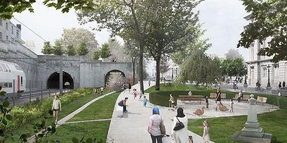 Aménagement du parc Fabiola, Ville Convivale Verviers