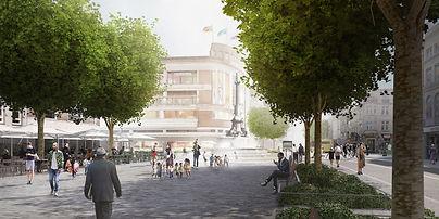Réaménagement de la place Verte Verviers