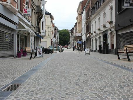 Rue Jardon - réfection du pavage