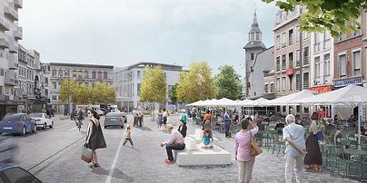 Réaménagemen de place du Martyr à Verviers, Ville Conviviale