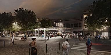 La Place Verte, phase B de Ville Conviviale