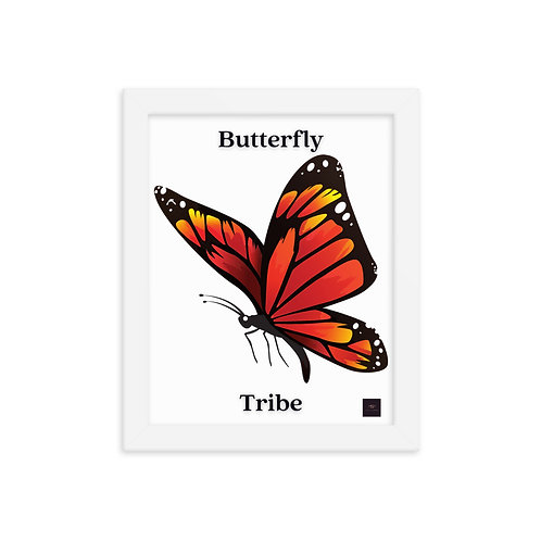 Butterfly Tribe Official Framed Poster